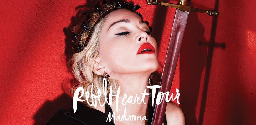Madonna: Le Rebel Heart Tour film devrait être terminé dans 2 mois