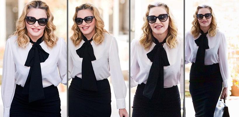 Madonna dans les rues de Londres [13 Septembre 2016 – Photos & Vidéo]