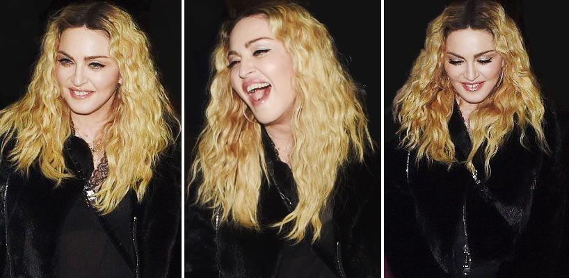 Madonna dans les rues de Londres [28 octobre 2016 – Photos]