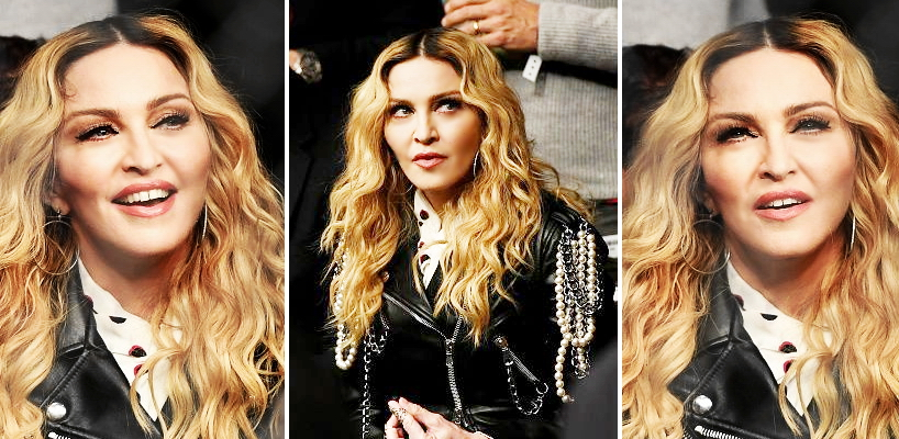 Madonna se rend à l'UFC 205 au Madison Square Garden, New York [12 Novembre 2016 – Photos & Videos]