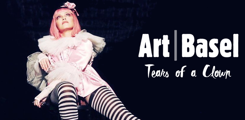 Madonna: Tears of a Clown au Art Basel de Miami [2 Decembre 2016 - Photos & Vidéos]