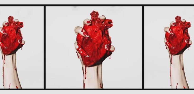 Projection backdrop Rebel Heart Tour pour 'Rebel Heart' [Vidéo]