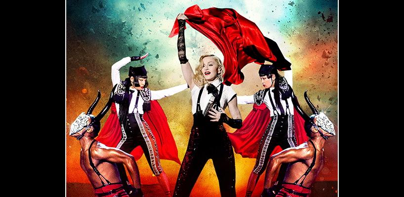 Le Rebel Heart Tour de Madonna en DVD, Blu-Ray et album live le 15 septembre 2017