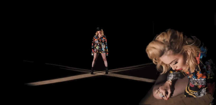 Madonna sort la video de l'audio pour la chanson « Crave »