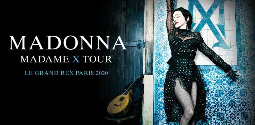 Madonna annonce les dates parisiennes du Madame X Tour