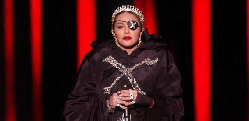 Madonna aux Concours Eurovision 2019 [Photos & Vidéos]