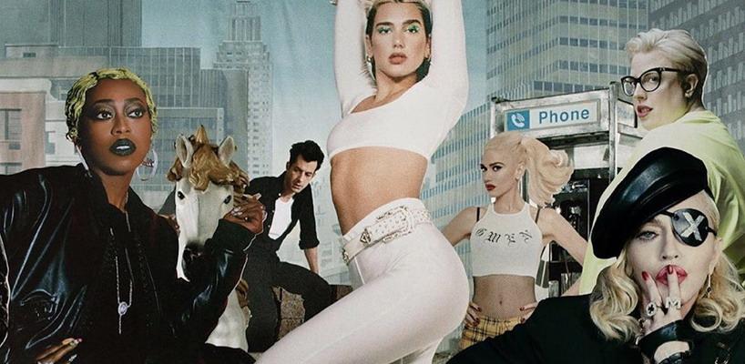 Dua Lipa sort le remix de 'Levitating' featuring Madonna et Missy Elliott