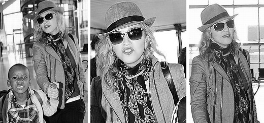 Madonna quitte Londres [11 juilet 2011 – 3 photos]