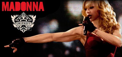 Smirnoff et Madonna en partenariat pour le projet «World's Biggest Nightlife Exchange» dans 50 pays