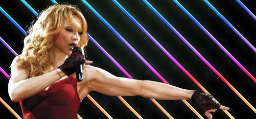 Nouvelle chaîne YouTube Madonna relative au concours de danse Smirnoff