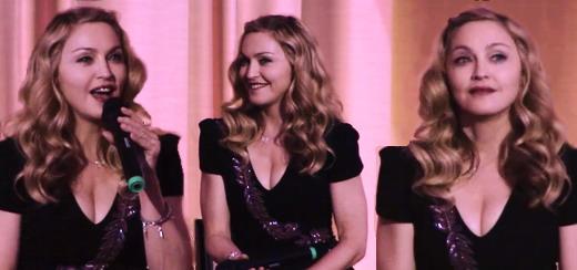 La vidéo session Q&R de Madonna pour W.E. au BFI – 15 minutes