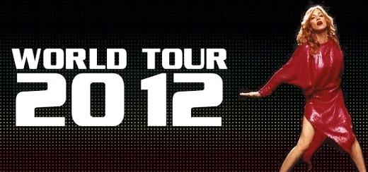 Des dates officielles de la tournée 2012 de Madonna émergent