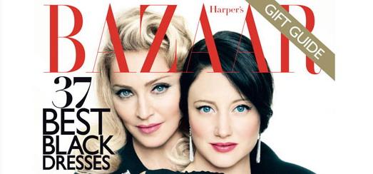 La couverture Harper's Bazaar avec Madonna