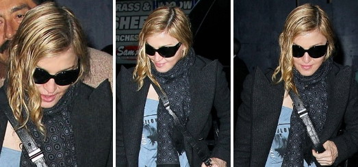 Madonna dans les rues de New York [8 novembre 2011 – Photos]