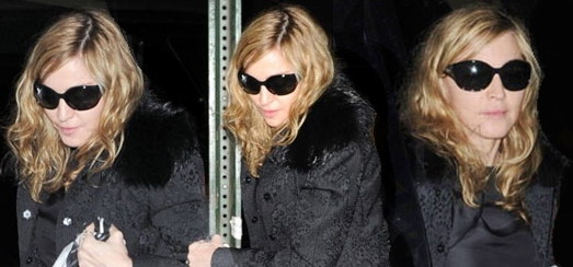 Madonna dans les rues de New York [18 novembre 2011 - Photos]