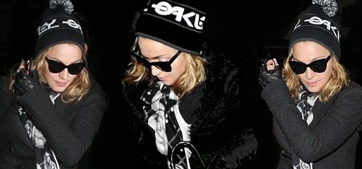 Madonna dans les rues de New York [16 décembre 2011 – Photos]
