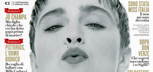 Madonna par Herb Ritts pour Vanity Fair Italie [Edition du 11 janvier 2012]