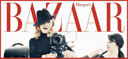 Madonna par Tom Munro pour Harper's Bazaar [décembre 2011 – janvier 2012]