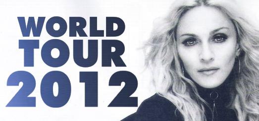 Tournée Madonna 2012 – Des détails exclusifs