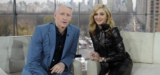 Details concernant l'interview de Madonna par Anderson Cooper