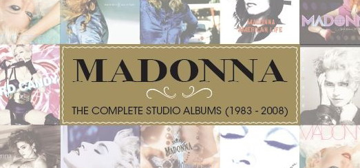 Box Madonna 'The Complete Studio Albums 1983-2008' chez Warner Music