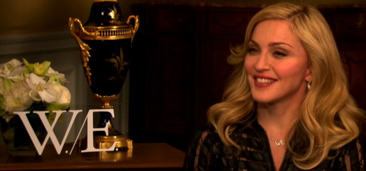 Madonna Interviews Promo pour W.E. [Partie 1 – 3 Vidéos]