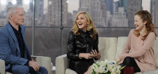 L'interview de Madonna par Anderson Cooper [2 février 2012 – Interview Intégrale]