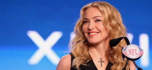 Conférence de Presse de Madonna au Super Bowl [720p HD – Exclu]