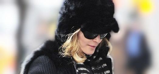 Madonna dans les rues de New York [11 février 2012 – Photos]