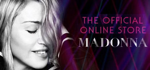 Le magasin online officiel de Madonna mis à jour avec de nouveaux objets MDNA et World Tour 2012