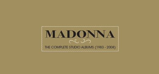 Madonna: The Complete Studio Albums Box dispo sur Amazon