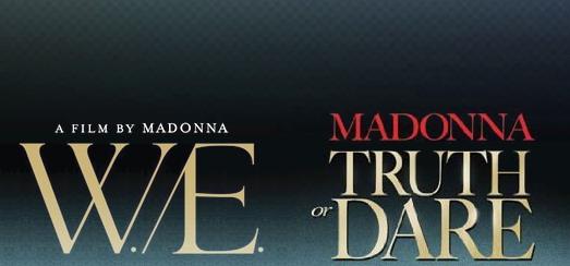 Truth or Dare et W.E. en Blu-ray [incl. Covers HQ]