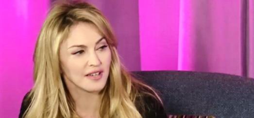 Madonna en Chat avec Jimmy Fallon: «Je veux chanter Serge Gainsbourg sur scène à Paris»