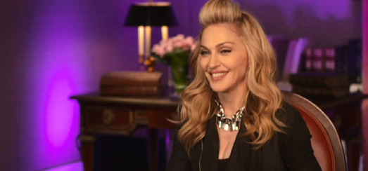 L'interview exclusive de Madonna pour le journal de TF1