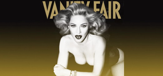 Madonna en couverture du magazine Vanity Fair Italia