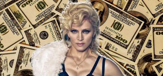 Madonna : une année à 500 millions de dollars !