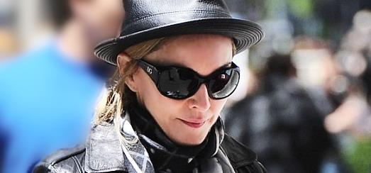 Madonna au centre de Kabbale à New York [12 mai 2012]