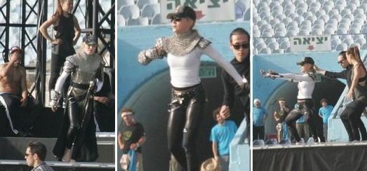 Les répétitions du MDNA Tour au Stade Ramat Gan de Tel Aviv [26 & 27 mai 2012]