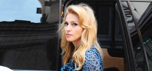 Madonna dans les rues de Rome [11 juin 2012]