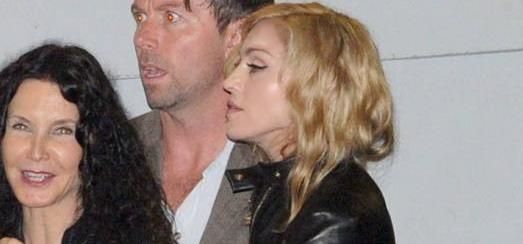 Madonna dans les rues de Rome [13 juin 2012]