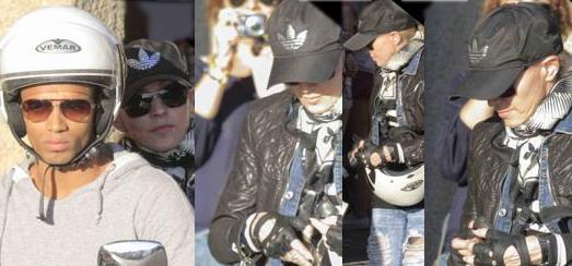 Madonna fait du shopping dans le quartier Ponte Vecchio de Florence [15 Juin 2012]