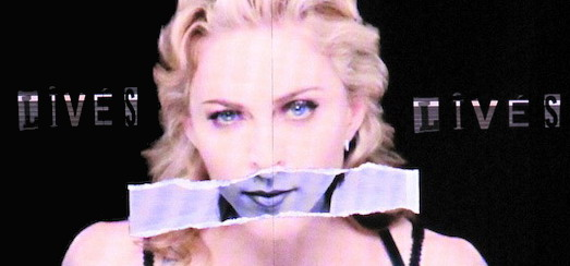 MDNA Tour Projections Backdrop – Nobody Knows me