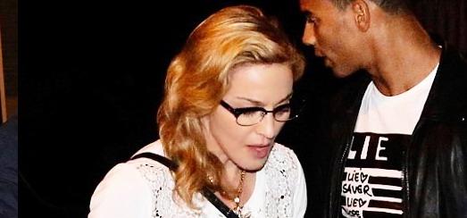 Madonna dans les rues d'Amsterdam [Juillet 2012]
