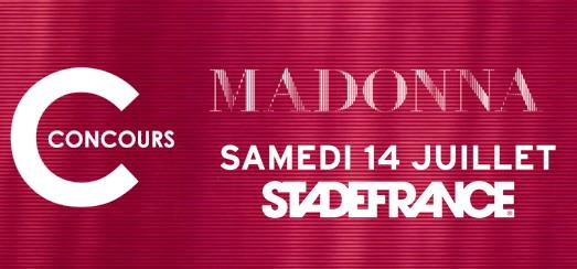 Concours – Madonnarama vous fait gagner des places pour le concert de Madonna à Paris