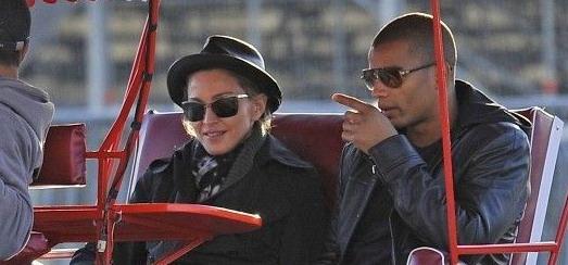 Madonna dans les rues de Paris [11 & 12 juillet 2012]