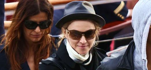 Madonna toujours à Paris [16 juillet 2012]