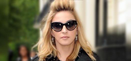 Madonna dans les rues de Londres [20 juillet 2012]
