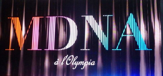 Le MDNA Tour à l'Olympia de Paris [26 juillet 2012 – Photos, Audios & Vidéos]