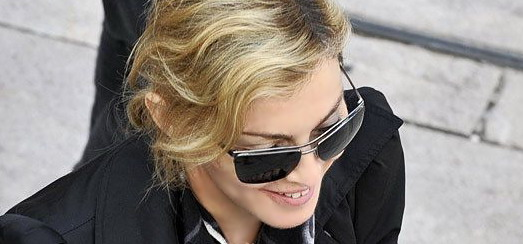 Madonna visite le Musée Leopold de Vienne [30 juillet 2012]