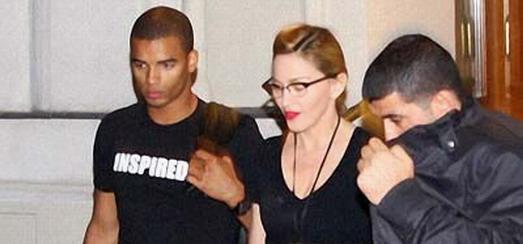 Madonna dans les rues de Vienne [31 juillet 2012]